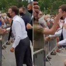Emmanuel Macron Ditampar Warga