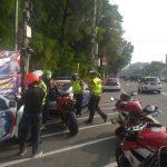 Polisi Tilang Ducati Standar Pabrik