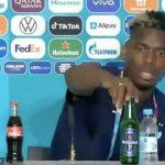 Paul Pogba Singkirkan Heineken di Konferensi Pers Euro 2020
