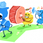 What the Google Doodle Today and Google Doodle Olympics?