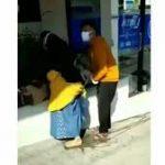 Viral Tiktok Wanita Melahirkan Berdiri Di Dekat Mesin ATM