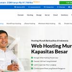 12GB SSD Hosting Web Indonesia Terbaru